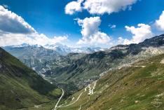 Furkapass, Oberwald, Switzerland